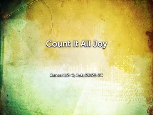 June 10, 2018p Count If All Joy