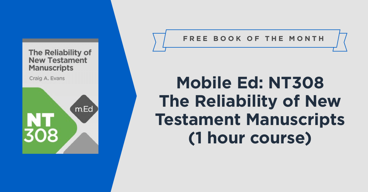 Lecture hall faithlife free book of the month logos bible software fandeluxe Images