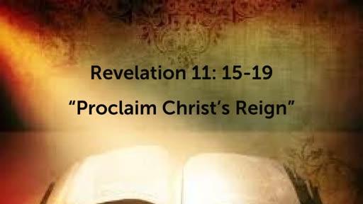 Praise Christ's Reign