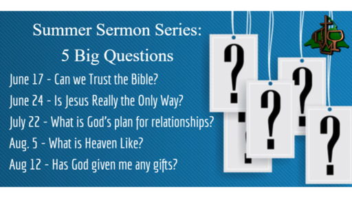 5 Big Questions: Can we Trust the Bible?