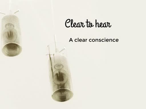 A Clear Conscience