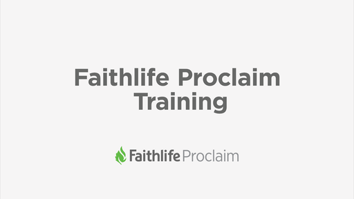 Faithlife Proclaim