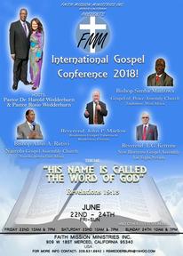 2018 International Gospel Conference- Day 2 AM