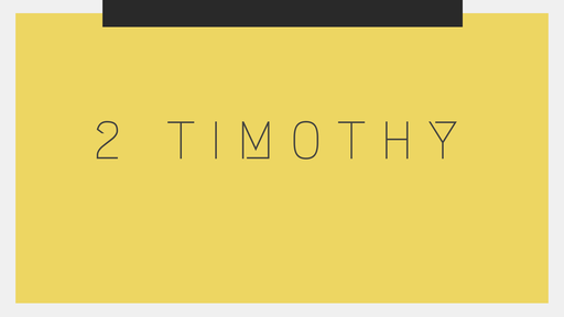 2 Timothy 2:14-26