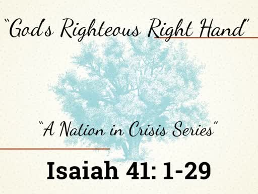 God's Righteous Right Hand