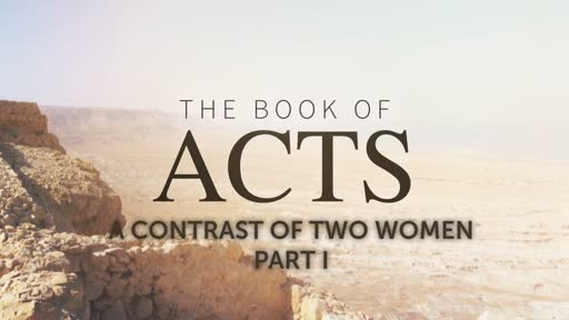 A Contrast of Two Women, PT I
