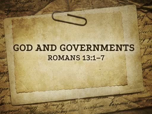 God and Governments