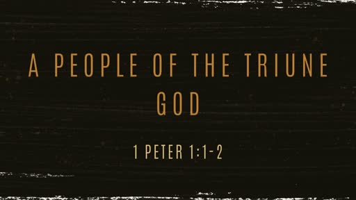 A People of the Triune God