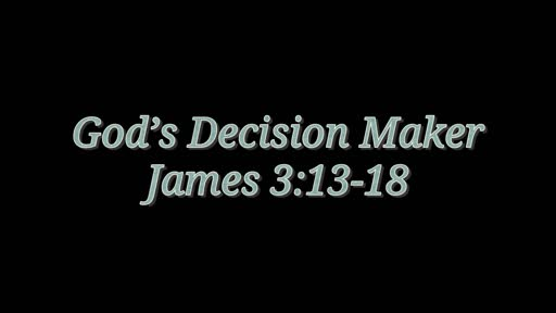 God's Decision Maker