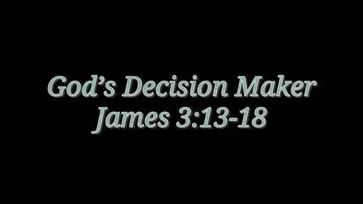 God's Decision Maker