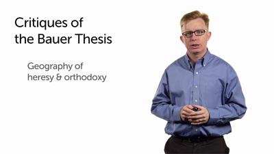 Did Heresy Precede Orthodoxy? Proto-Orthodoxy Preceded Both