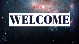 The Glory of God welcome 16x9 PowerPoint Photoshop image