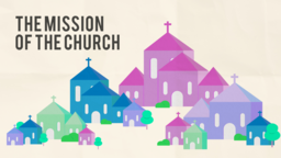 The Mission of Church 16x9 PowerPoint Photoshop image