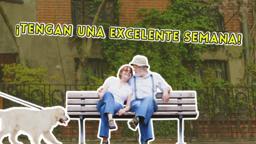 Love Your Neighborhood ¡tengan una excelente semana! 16x9 PowerPoint Photoshop image