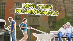 Love Your Neighborhood subheader 16x9 PowerPoint Photoshop image