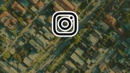 Love Your Neighborhood instagram 16x9 PowerPoint Photoshop image