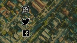 Love Your Neighborhood social media 16x9 PowerPoint Photoshop image