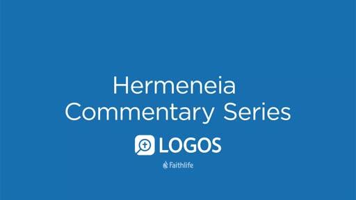 Hermeneia Commentary Series