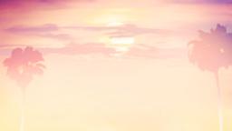 Pacific Sunset sermon title 16x9 PowerPoint Photoshop image