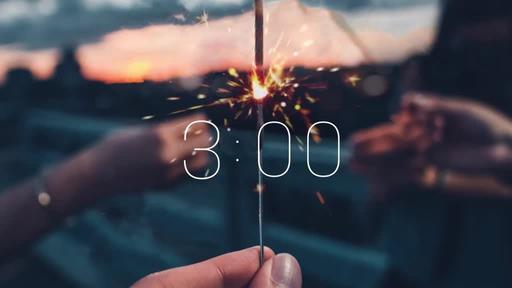 Summer Sparklers - Countdown 3 min