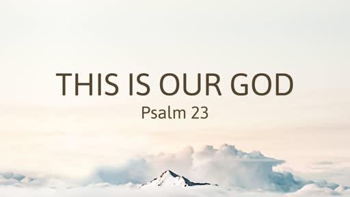 1 July PM - Psalm 23