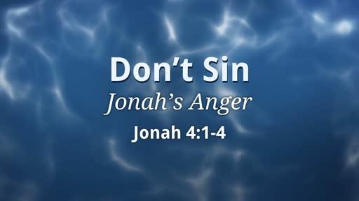 Don't Sin