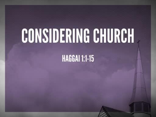 Considering Church