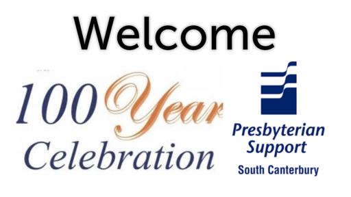 Presbyterian Support Centenary Service