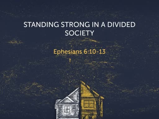 Standing Strong in a Divided Society