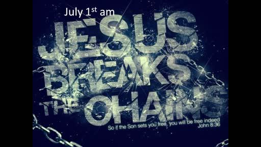 Jesus break the chains