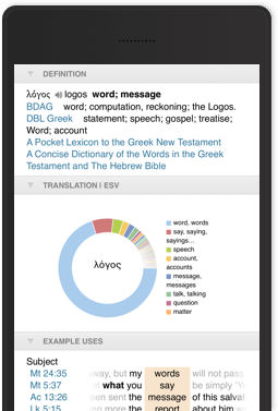 Mobile App | Logos Bible Software