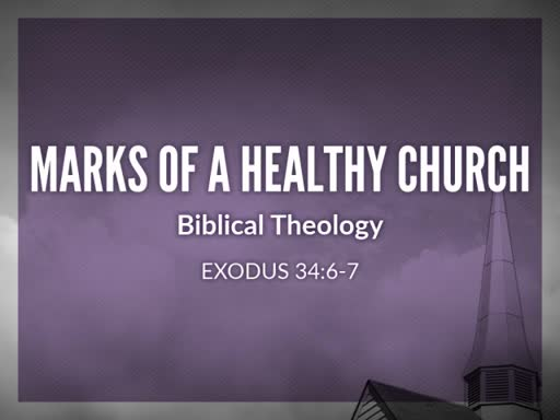 Marks of a Healthy Church: Theology