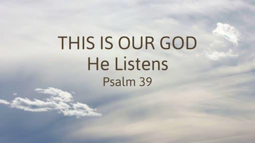 8 July PM - Psalm 39