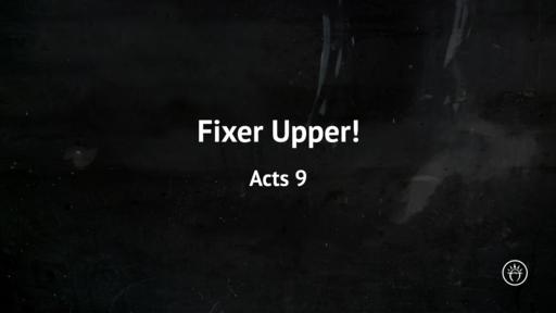 Fixer Upper!