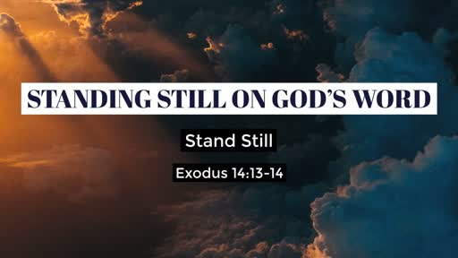 Standing Still on God's Word
