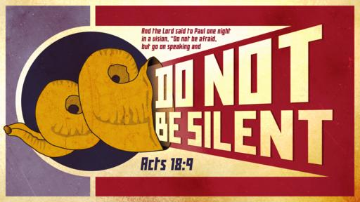 Acts 18:9 verse of the day image