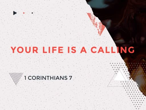 Your Life Is a Calling