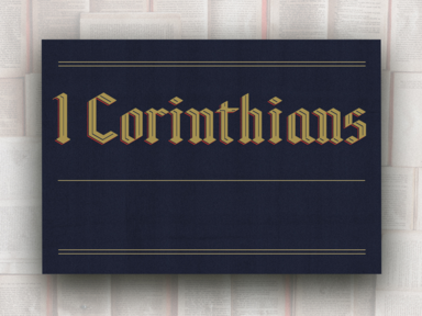 1 Corinthians: Together Pushing Forward