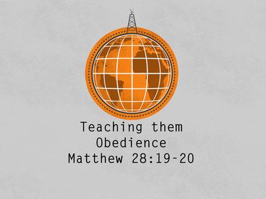 Teaching Them Obedience CC