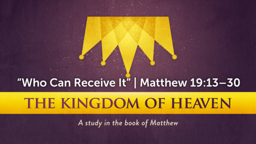 """""""Who Can Receive It"""" 