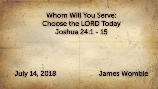 Joshua 24:1-15