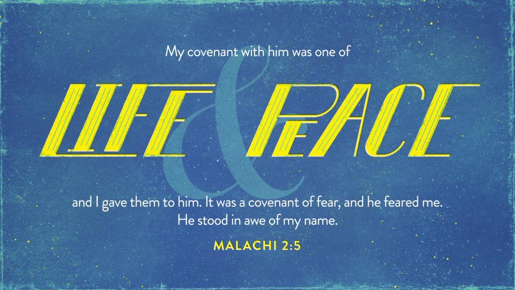 Malachi 2:5 large preview