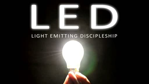 LED, Part 1: Discipleship // David Spiegel