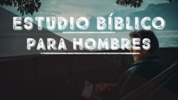 Men's Bible Study Lake estudio bíblico para hombres announcement 16x9 PowerPoint image