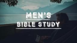 Men's Bible Study Lake 16x9 PowerPoint image