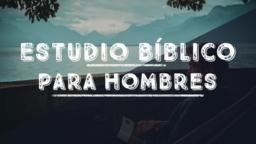 Men's Bible Study Lake estudio bíblico para hombres 16x9 PowerPoint image