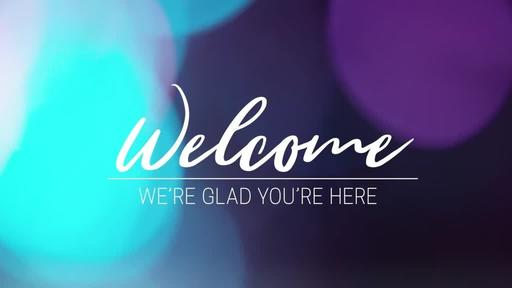 Violet Bokeh - Welcome