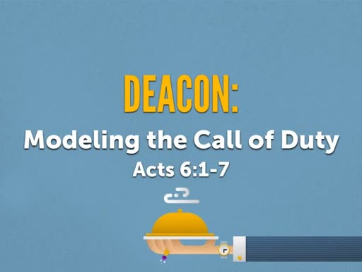 The Deacon Ministry