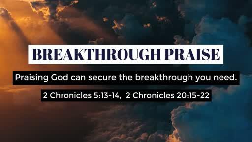 Breakthrough Praise