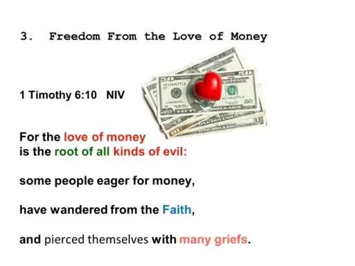 God's Financial Freedom